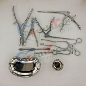Neuro Spinal Surgery Surgical Orthopedic Instruments 10 Pcs Set Best Quality Mti