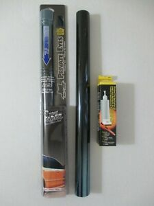 2 Private Eyes 2 Tone Window Tint Fader Film Blue Chrome To Deep Blue 24 X10