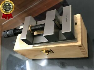2 3 8 60mm Toolmakers Grinding Vise Vice Precision Machine Vice Wooden Box
