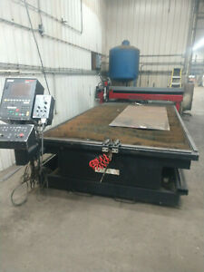 Cnc Hypertherm Plasma Table 72 X 144 Travel 1 Inch Cutting Capacity