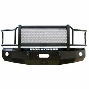 Iron Cross 24 415 92 Front Bumper Full Guard For 92 96 Ford F 150 250 350 New