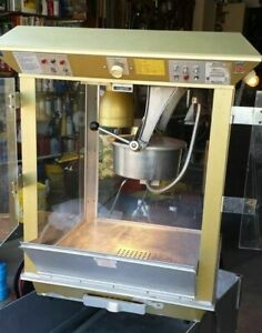 Commercial Theater Popcorn Machine Popcorn Maker Gold Medal 2119 14 Oz Popper