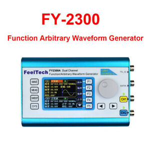 Feeltech Fy2300 Dual Channel Dds Arbitrary Waveform Function Signal Generator