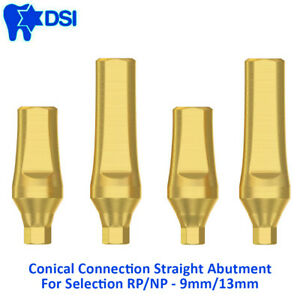 Dsi Dental Implant Conical Straight Titanium Abutments Nobel Active Np Rp