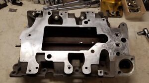 L32 Supercharged 3800 Gm Lower Intake Manifold Modified For Intercooler