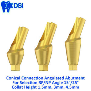 Dsi Dental Implant Angulated 25 Anatomic Abutment Conical Nobel Active Rp1 5