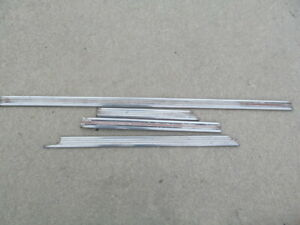 1966 Buick Wildcat 2dr Lower Side Moldings
