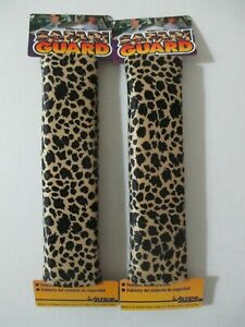 2 New Leopard Design Seat Belt Harness Shoulder Pad Covers Alpena Padded Comfort
