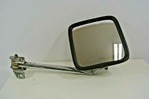 Acme Truck Side Mirror Right Vtg Rubber Edge 8 5 Square Long Arm Safety Tempered