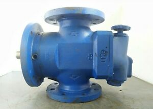 Imo Pump Acg 070 Ivbp Triple Screw Oil Pump Pressure Tested Working Condition