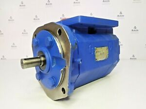Imo Pump Ace 038n3 Ntbp Triple Screw Oil Pump Tested Good Working Condition