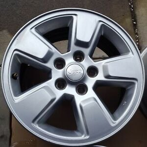 2011 Jeep Liberty Sport Oem Aluminum Wheels