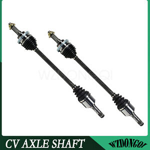 Rear Cv Axle Shaft Pair Set For Mazda Miata Ls Non turbo 1 8l 4 Cyl 95 05