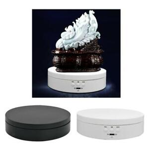 Plastic 360 Degree Electric Rotating Display Stand Mirrored Display Turntable