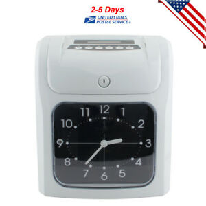From Us Employee Attendance Punch Time Clock Payroll Recorder Perpetual Calendar