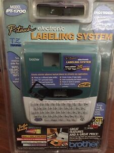 Brother P touch Pt 1700 Compact Label Maker New Factory Sealed
