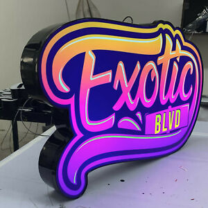 Custom Light Box Channel Box Sign
