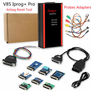 V84 Iprog Pro Programmer Immo Mileage Correction Adapters For In circuit Ecu