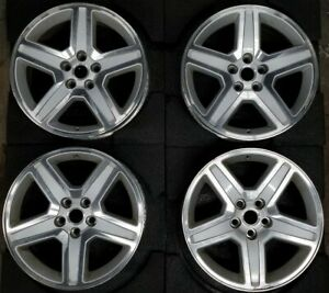 18 Dodge Charger 2008 2010 Oem Factory Machine Silver Set Of 4 Wheels Rim 2326