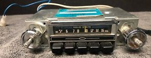 Rare Audiovox C 405 Solid State Am Car Radio Stereo Made In Japan Vintage