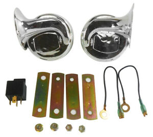 Chrome Dual Horn Kit Universal High low