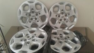 Set Of Ford Fusion Factory Original Hubcaps 2008 2009 2010 2011 2012 Real Mccoy