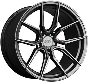 Xxr 559 19x8 5 5x114 3 40et Chromium Black Wheel