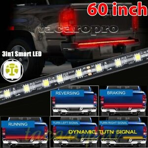 60 Redline Triple core Led Tailgate Light Brake Sequential Turn Signal Strip