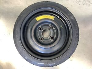 88 00 Civic Crx Delsol Compact Spare Donut Temporary Wheel Rim Disk Tire 13x4