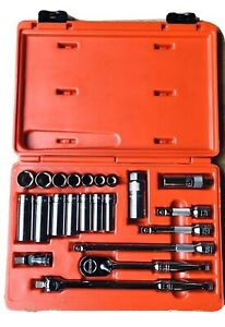 Snap on Tools 3 8 Sae fractional 22 piece General Service Set mint Condition