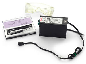 Ultraviolet Lamp Kit Uv Lamp Power Supply And Uv Goggles