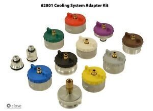 Hickok Waekon Cst Cooling System Tester Adapter Kit 62801