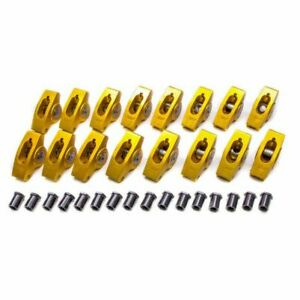 Crane Cams 10751 16 Gold Race Aluminum Rocker Arms For Chevy 4 3l V6 305 350 New