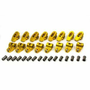 Crane Cams 15750 16 Gold Race Aluminum Rocker Arms For Chevy V8 348 409 New