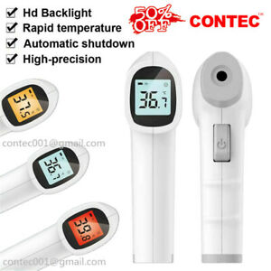 Digital Infrared Thermometer Body Forehead Temperature Gun Touchless Temp Meter