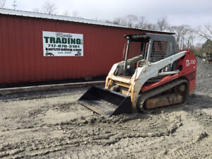 2005 Takeuchi Tl130 Compact Track Skid Steer Loader Cheap