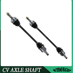 For Geo Metro Base Lsi Manual Trans 1 0l I3 Pair Of 2 Front Cv Axle Shafts