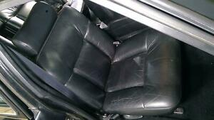 91 93 Cadillac Sedan Deville Fwd Right Front Black Leather Seat
