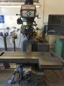 Cnc Mill With Dynapath Control Clausing