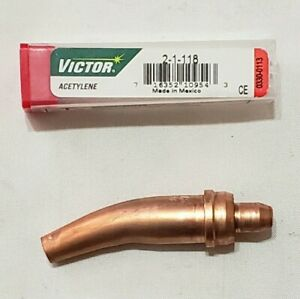 Victor Style 2 1 118 Acetylene Cutting Torch Tip Gouging Scarfing St2600 Ca2460