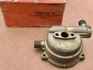 Nos Oe Rochester Gm Carburetor Choke Housing 53 55 Chevrolet 6 Cylinder