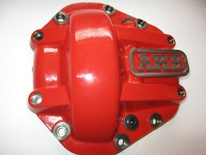Arb Red Powder Coated Dana 60 Nodular Iron Hd Differential Rear Cover 0750001