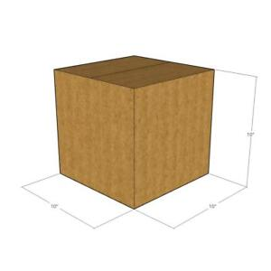 25 10x10x10 44 Ect Heavy Duty New Corrugated Boxes