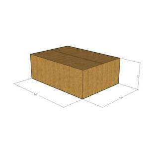 25 14x10x5 32 Ect New Corrugated Boxes