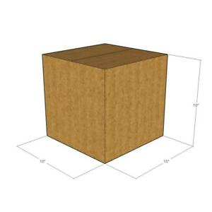 50 New Corrugated Boxes 10x10x10 44 Ect Heavy Duty