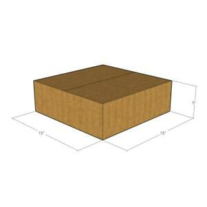 100 New Corrugated Boxes 15x15x5 32 Ect Lxwxh
