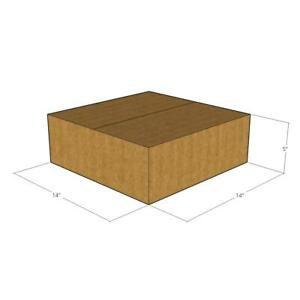15 New Corrugated Boxes Size 14x14x5 32 Ect