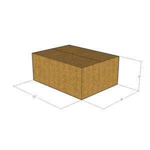 100 New Corrugated Boxes 12x9x5 32 Ect Lxwxh