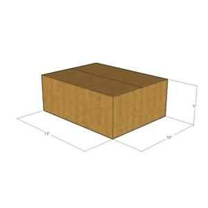 150 New Corrugated Boxes 13x10x5 32 Ect Lxwxh
