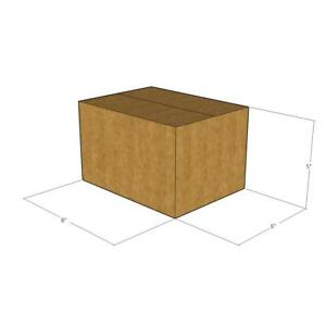 200 New Corrugated Boxes 8x6x5 32 Ect Lxwxh